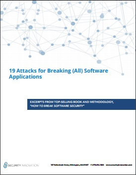 19 Attacks for Breaking Applications