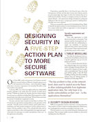 Five Steps to Designing More Secure Software