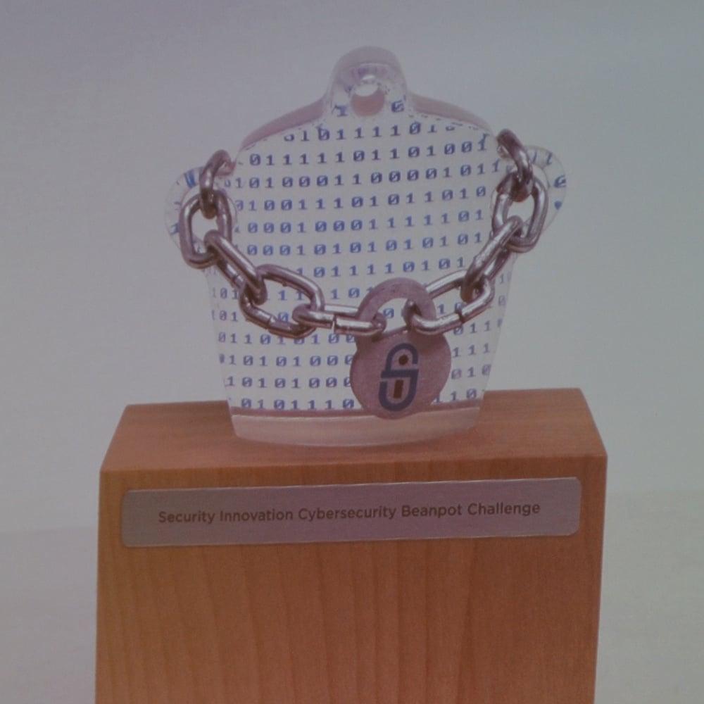Cyber Beanpot trophy